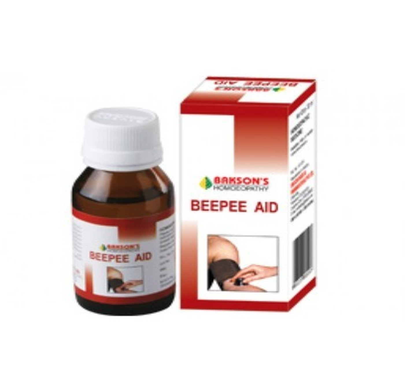 Bakson Beepee Aid Drop Homeopathic Medicine style=