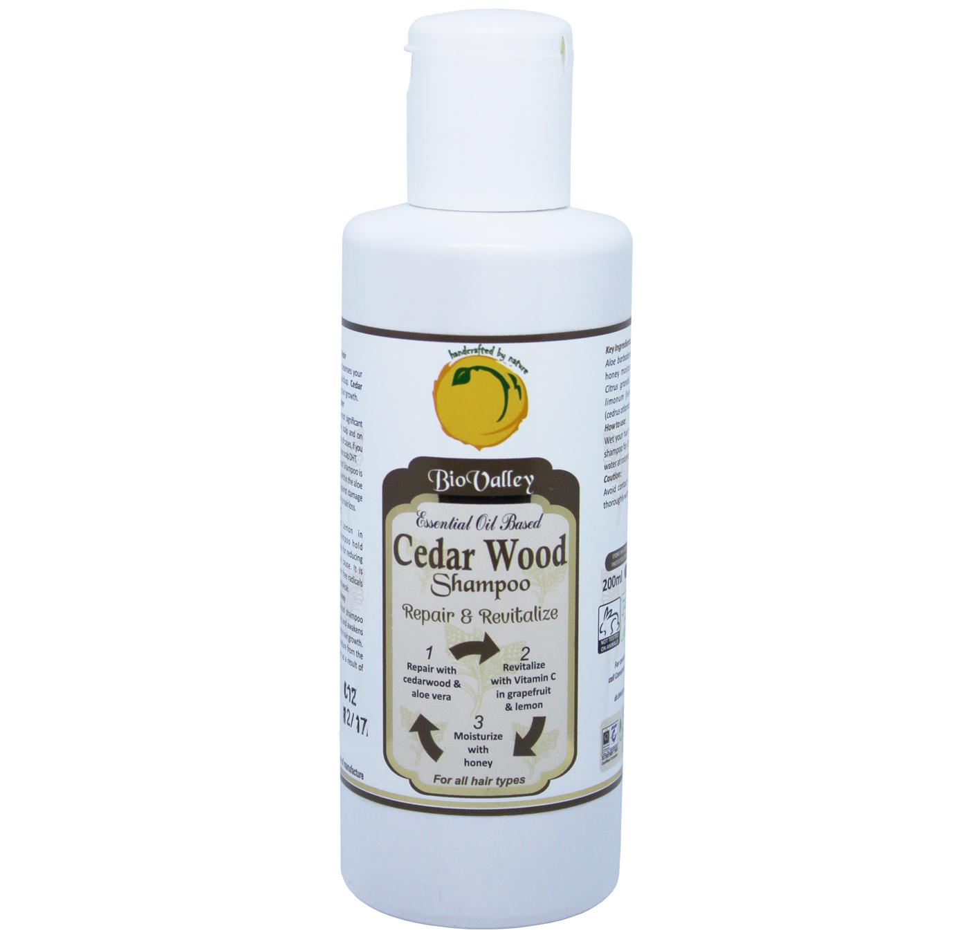 Cedar Wood  Anti Dandruff Shampoo style=