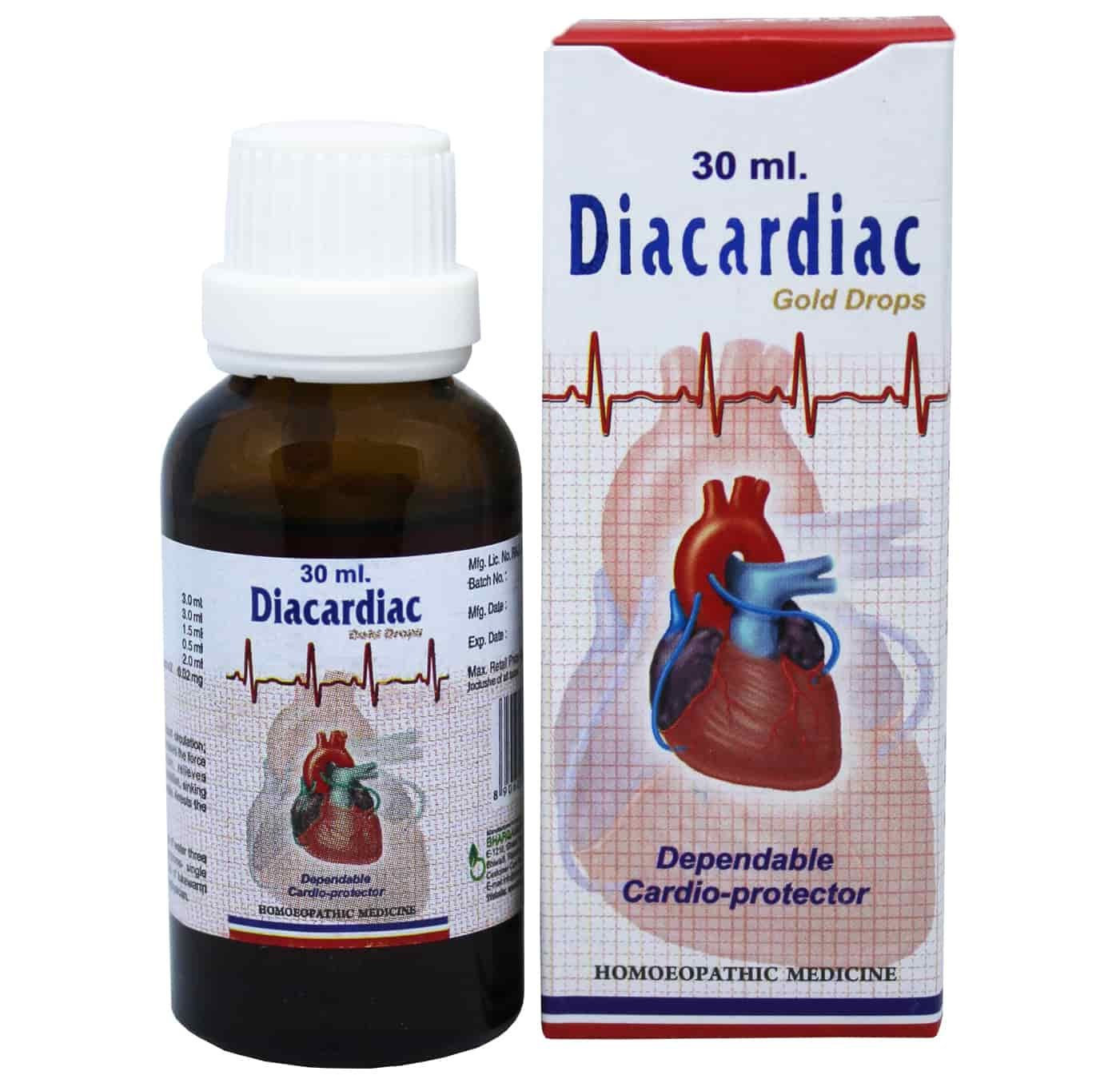 Diacardiac Drop Peripheral Blood Circulation style=