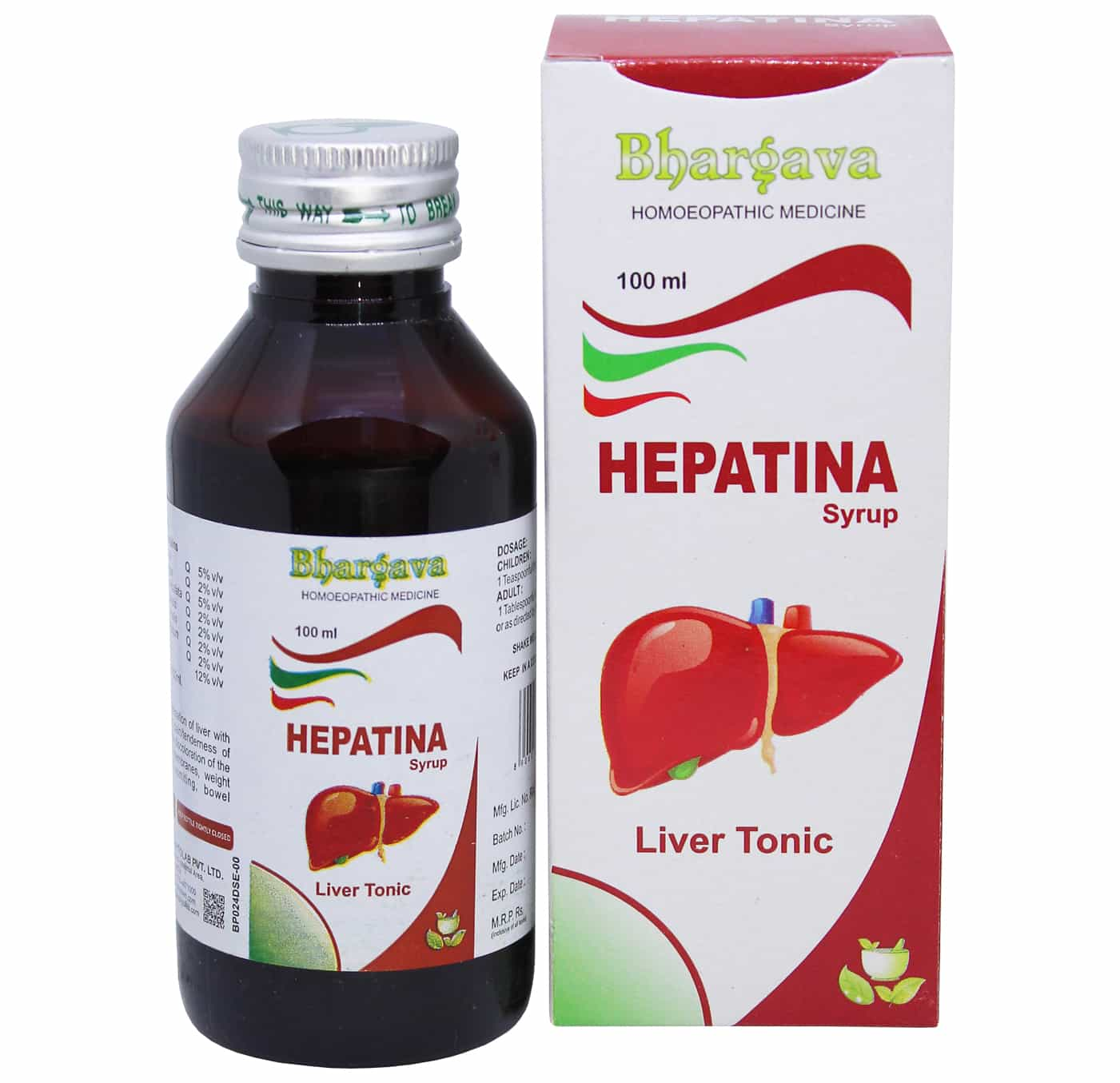 Hepatina Syrup style=