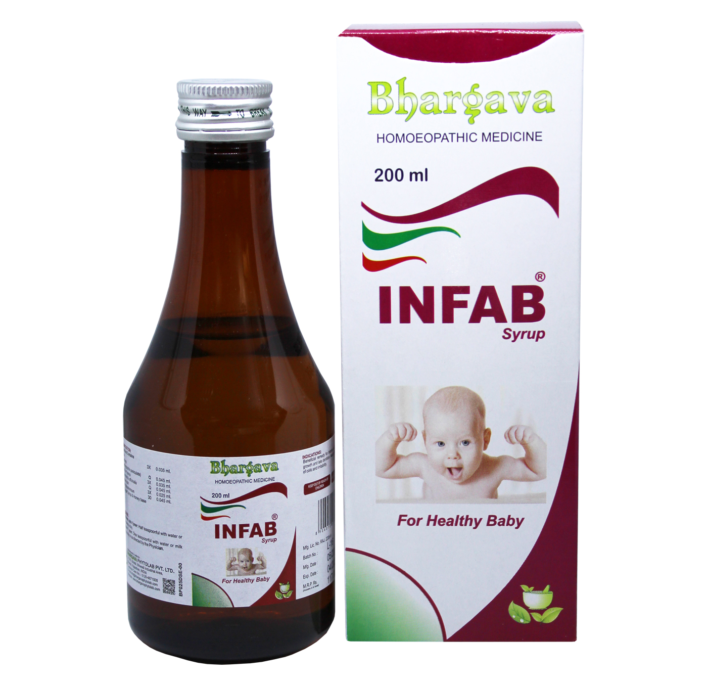 Infab Syrup Child Digestion and Immunity Booster style=