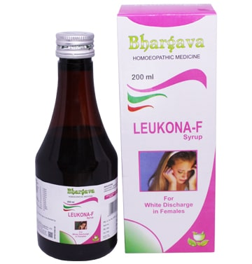 Leukona F Syrup Useful in White Discharges