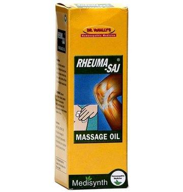 Medisynth Rheuma-Saj Massage Oil Homeopathic Medicine