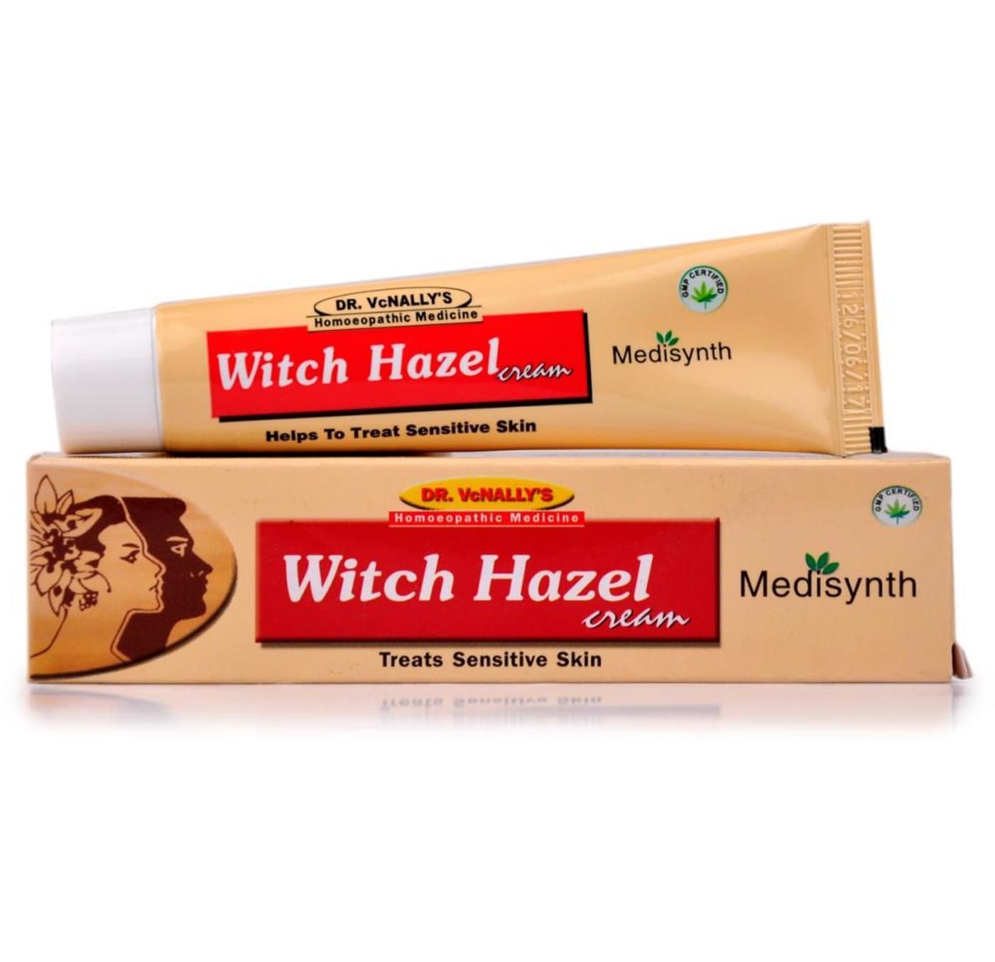 Medisynth Witch Hazel Cream Homeopathic Medicine style=