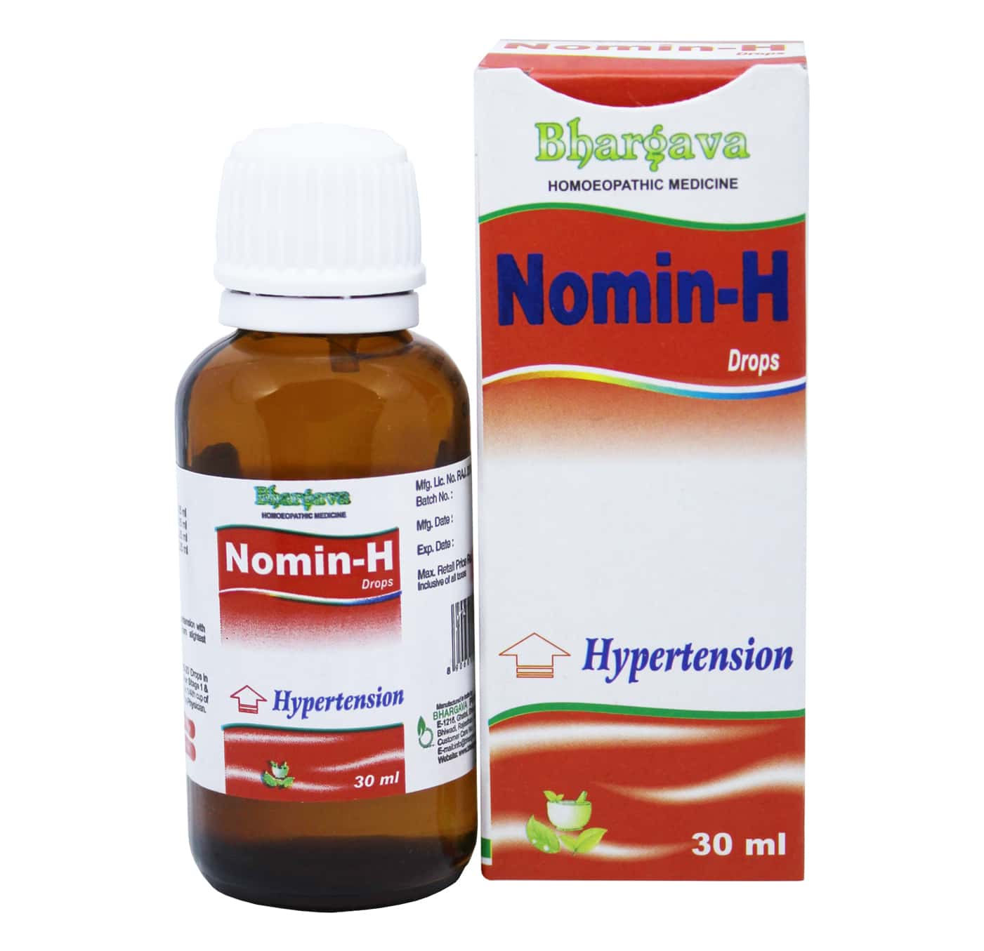 Nomin-H Drop for Hight Blood Pressure style=