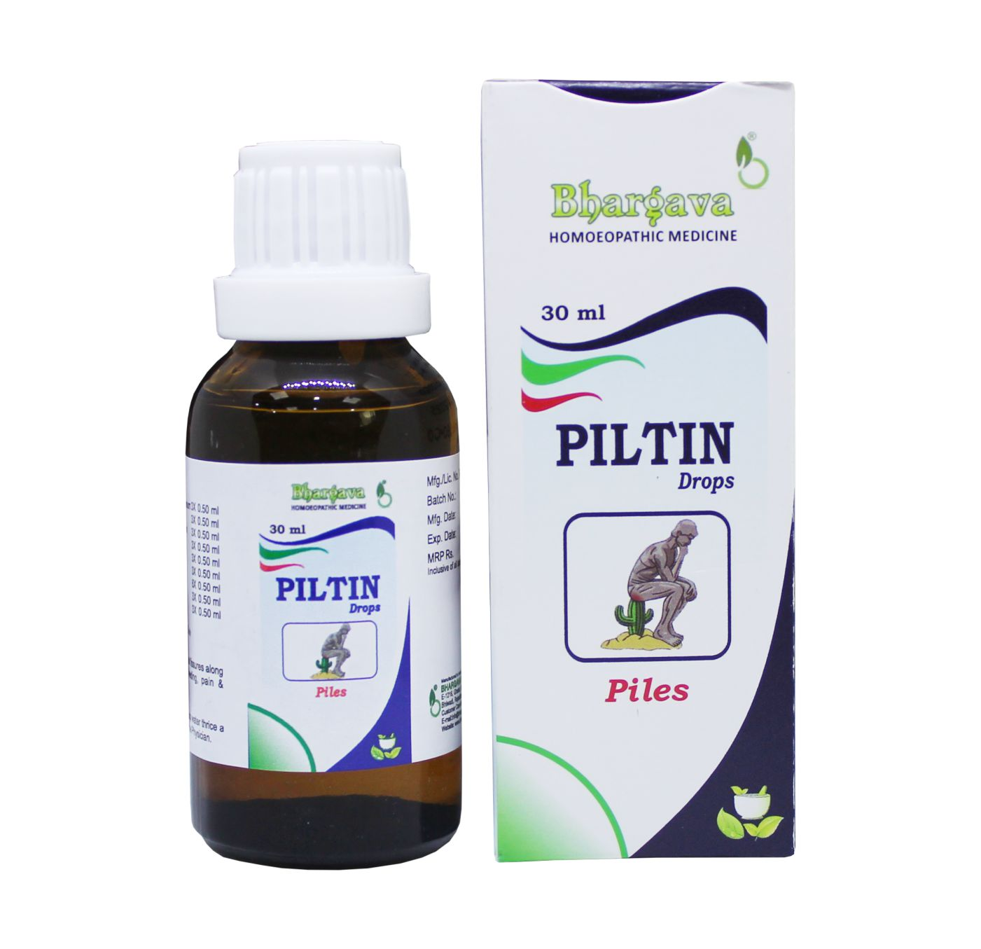 Piltin Minims Piles Relief Drop style=