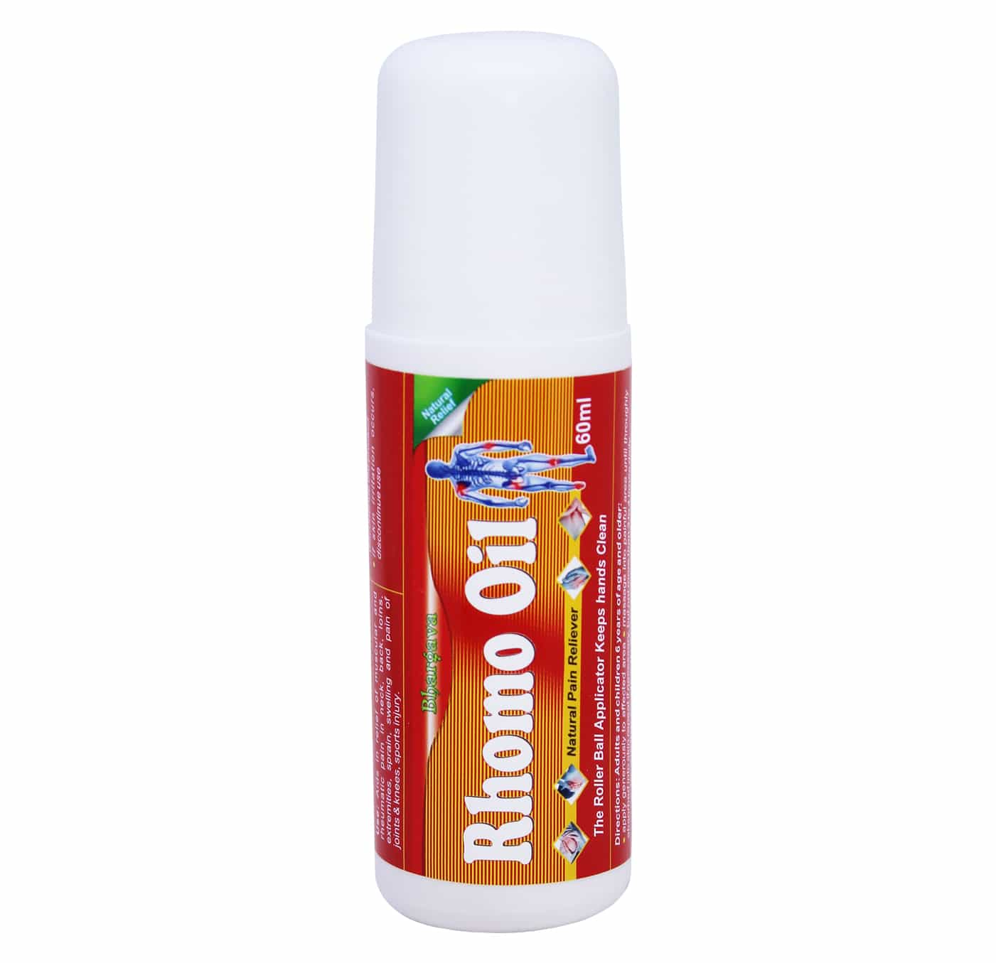 Rhomo Oil Roll On Instant Pain Relief  style=