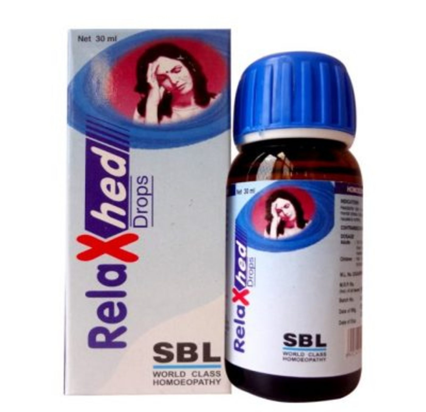 SBL Relaxhed Tablet Homeopathic Medicine style=