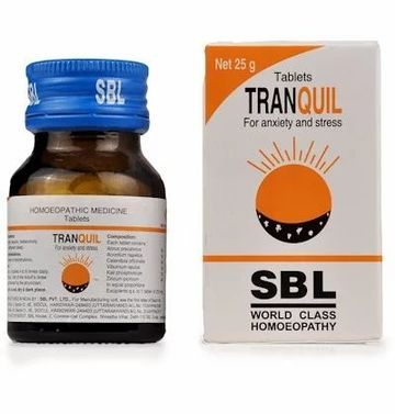SBL Tranquil Tablet Homeopathic Medicine