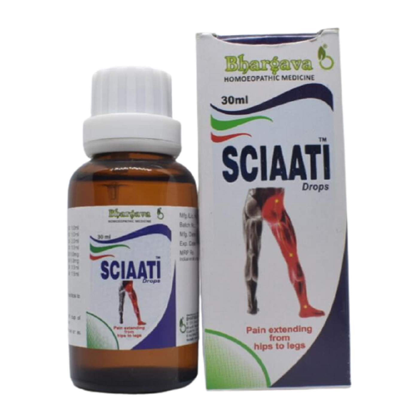 Sciaatii Minims Pain Relief Drops style=