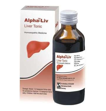 Dr Willmar Schwabe India Alpha-Liv Liver Tonic Homeopathic Medicine