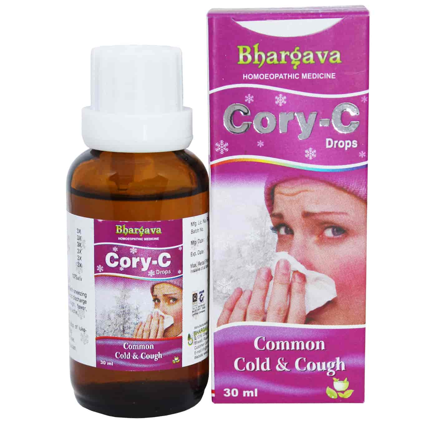 Cory - C  Drop Acrid Discharge from Nose style=